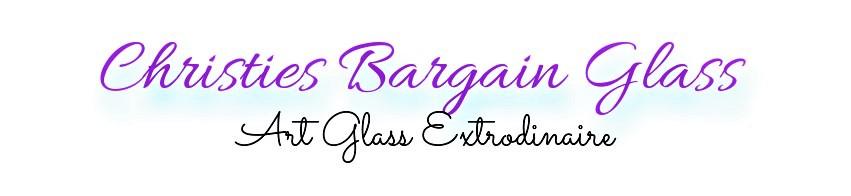 Christies Bargain Glass